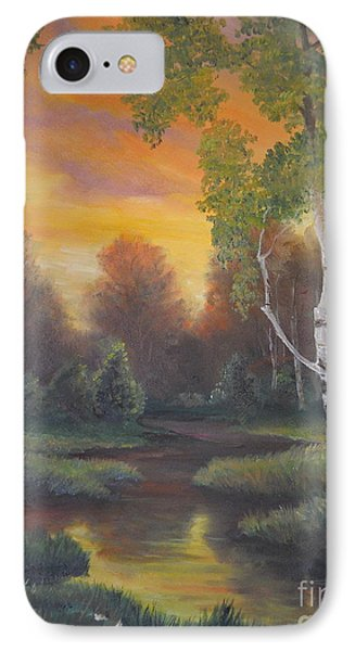 Twilight Fall  IPhone Case by Sorin Apostolescu