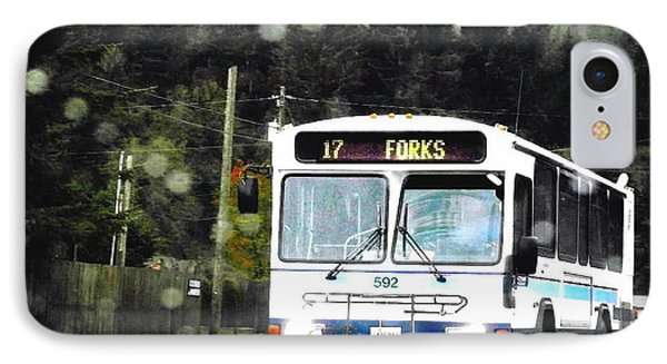 Twilight In Forks Wa 1 IPhone Case by Sadie Reneau