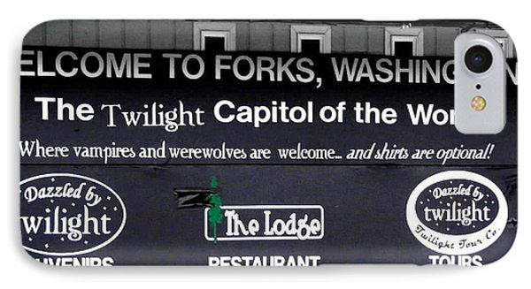 Twilight In Forks Wa 5 IPhone Case by Sadie Reneau