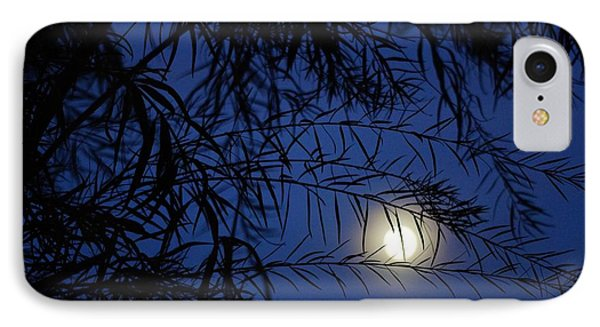 Twilight Moon IPhone Case by Kerri Mortenson