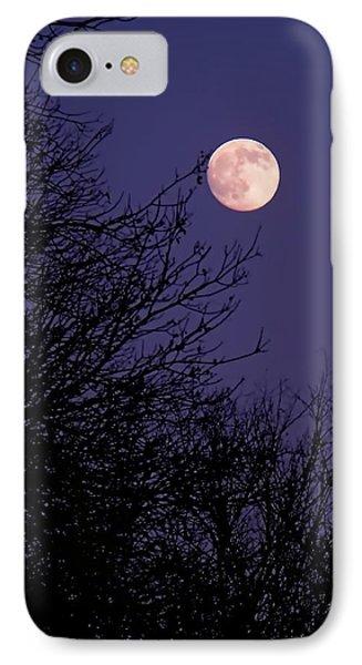 Twilight Moon IPhone Case by Rona Black