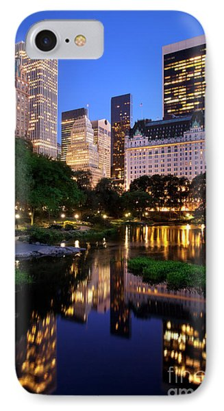 Twilight Nyc IPhone Case by Brian Jannsen