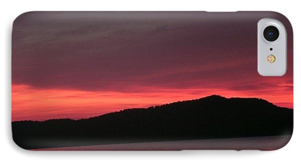 Twilight Over Cave Run Lake  IPhone Case