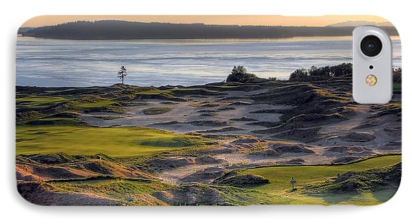 IPhone Case featuring the photograph Twilight Paradise - Chambers Bay Golf Course by Chris Anderson