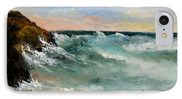 Twilight Surf Phone Case by Larry Martin