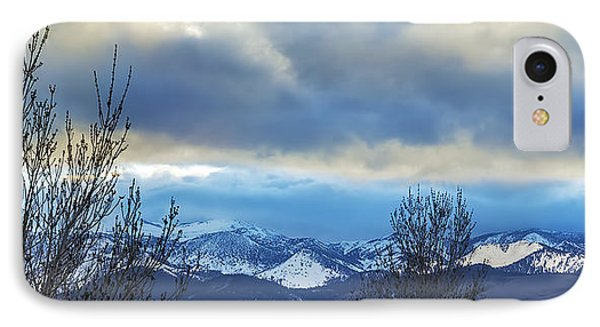 IPhone Case featuring the photograph Twilight's Sky by Nancy Marie Ricketts