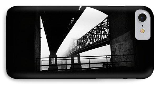 Twin Bridges Phone Case by Leon Hollins III