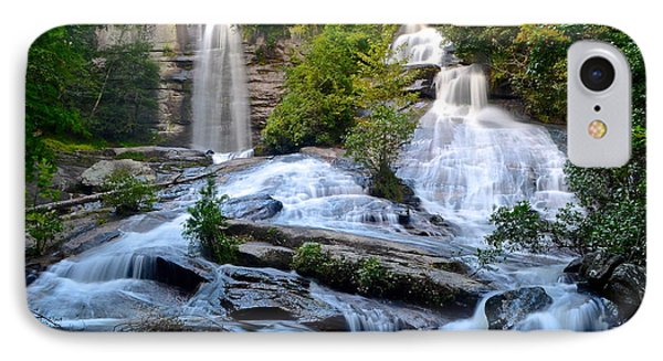 Twin Falls South Carolina Phone Case by Frozen in Time Fine Art Photography