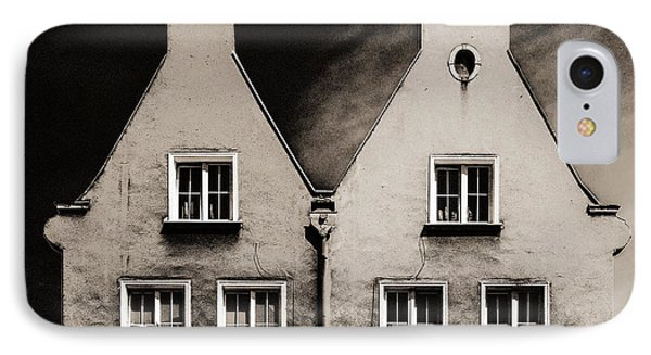 IPhone Case featuring the photograph Twin Houses by Arkady Kunysz