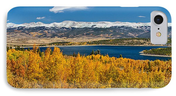 Twin Lakes Colorado Autumn Snow Dusted Mountains Phone Case by James BO  Insogna