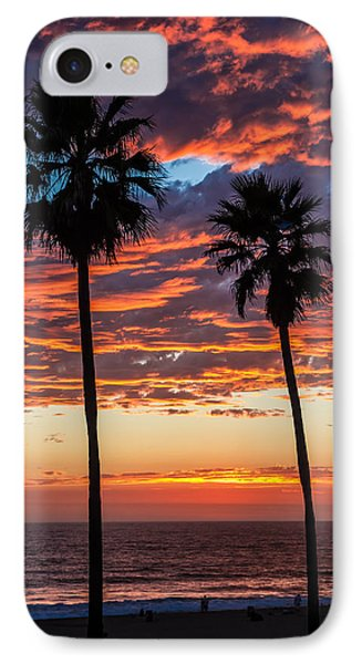 Twin Palms IPhone Case by April Reppucci