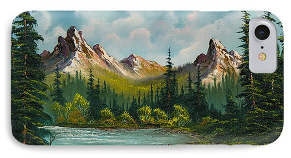 Twin Peaks River Phone Case by C Steele