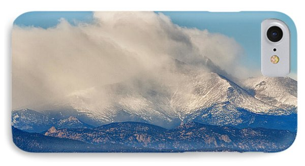 Twin Peaks Winter Weather View  Phone Case by James BO  Insogna