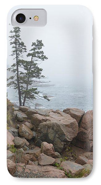 Twin Pines By The Sea IPhone Case
