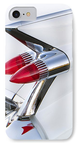 Twin Taillights 1959 Cadillac IPhone Case by Robert Jensen