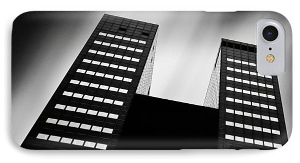 Twin Towers IPhone Case by Dave Bowman