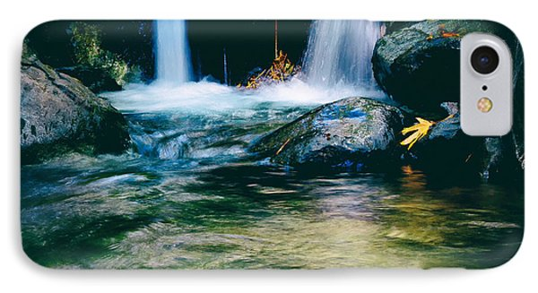 Twin Waterfall IPhone Case by Stelios Kleanthous