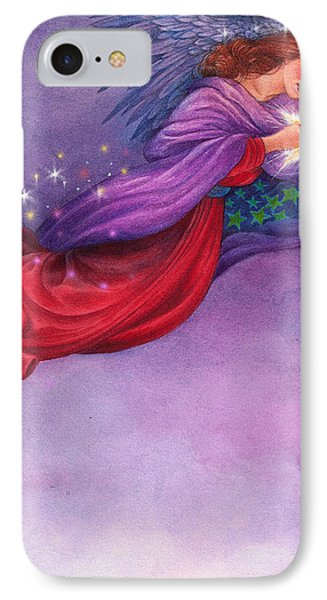 Twinkling Angel IPhone Case by Judith Cheng