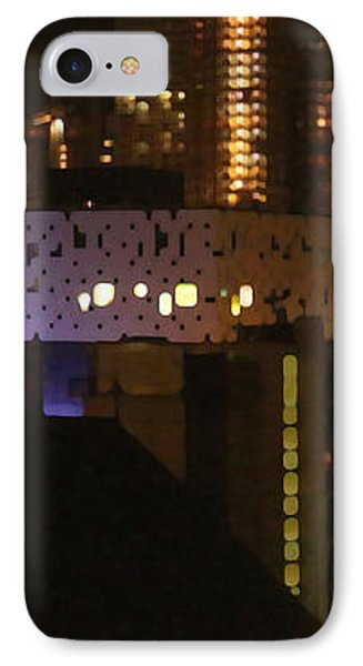 Twinkling City IPhone Case by Yvonne Wright