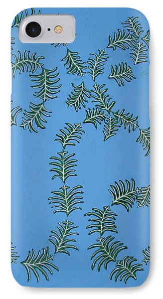 Twirling Leafs IPhone Case