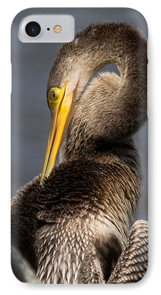 IPhone Case featuring the photograph Twisted Bird by Alan Raasch