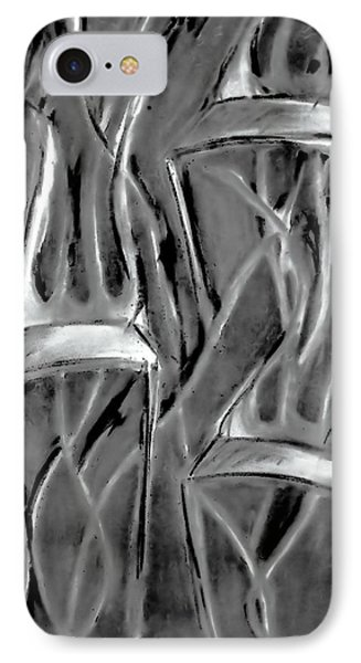 Twisted Chairs Phone Case by John Grace