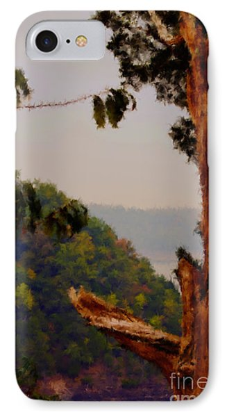 Twisted Tree Overview IPhone Case by Ken Frischkorn