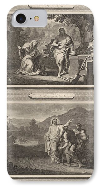 Two Appearances Of Christ After The Resurrection IPhone Case by Artokoloro