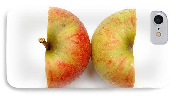 Two Apple Halves Phone Case by Michal Bednarek