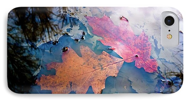 Two Autumn Leaves Phone Case by Milan Surkala