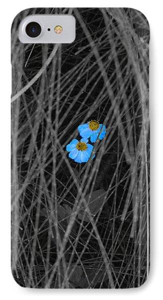 Two Blue Phone Case by Douglas Barnard