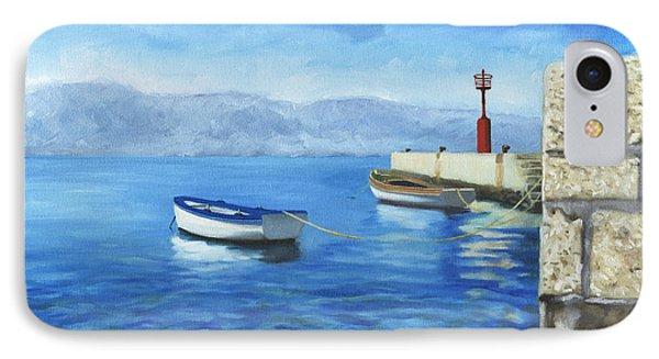 Two Boats IPhone Case by Joe Maracic