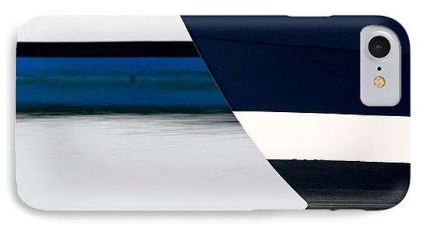 Two Boats Moored Phone Case by CJ Middendorf