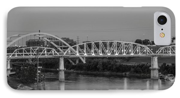 IPhone Case featuring the photograph Two Bridges by Robert Hebert