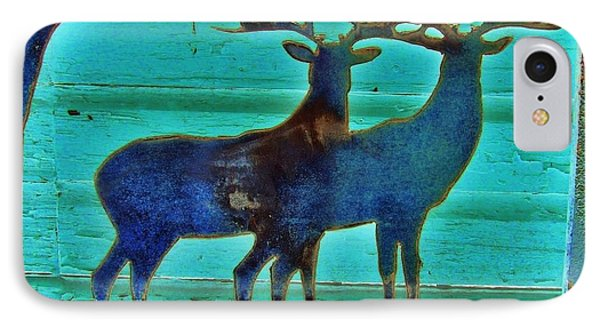 Two Bucks IPhone Case by Larry Campbell