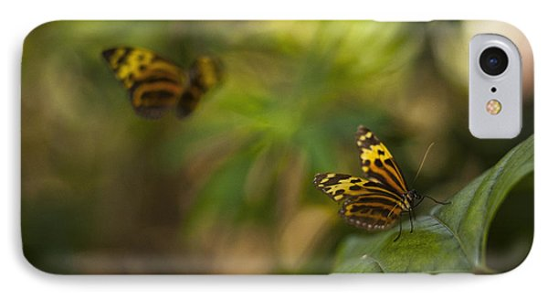 Two Butterflies IPhone Case by Bradley R Youngberg
