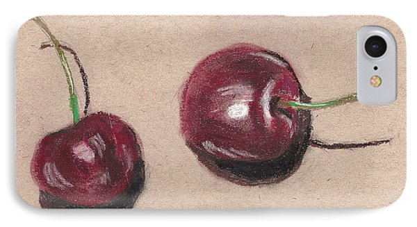 Two Cherries IPhone Case
