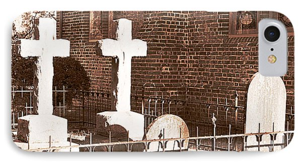 Two Crosses In Saint Lukes  Phone Case by Artist and Photographer Laura Wrede