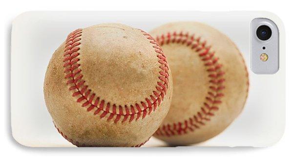 Two Dirty Baseballs Phone Case by Darren Greenwood