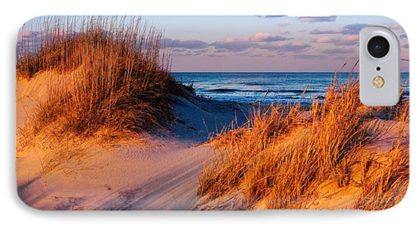 Two Dunes At Sunset - Outer Banks IPhone Case