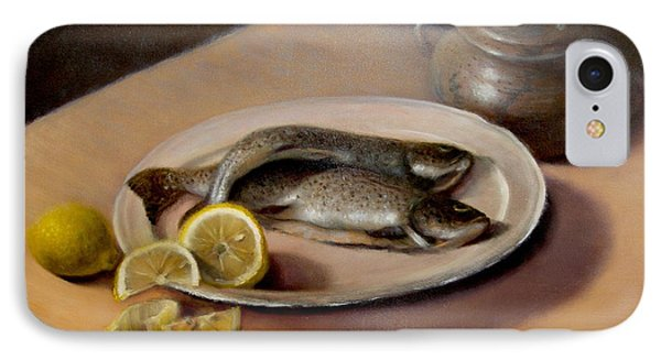 IPhone Case featuring the painting Two Fish by Donelli  DiMaria