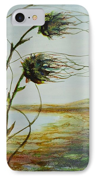 Two Flowers By The Bay IPhone Case