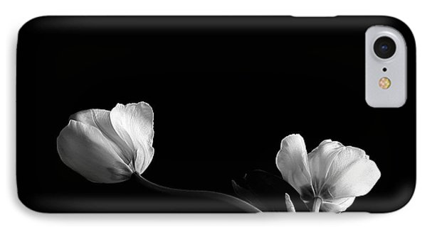 IPhone Case featuring the photograph Two Flowers by Marwan Khoury
