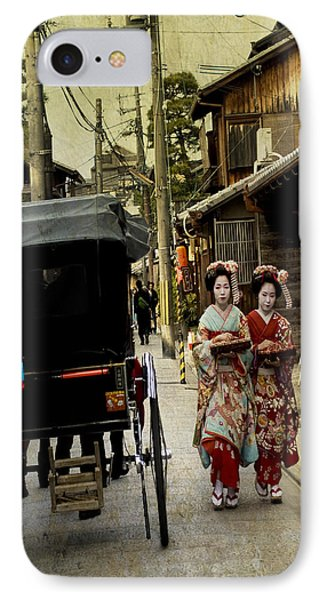 Two Geishas And A Buggy IPhone Case