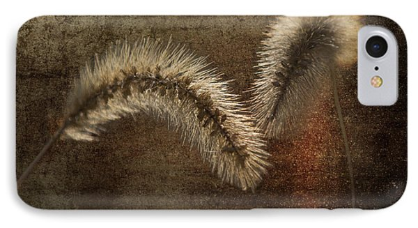Two Grass Flowers Phone Case by Heiko Koehrer-Wagner