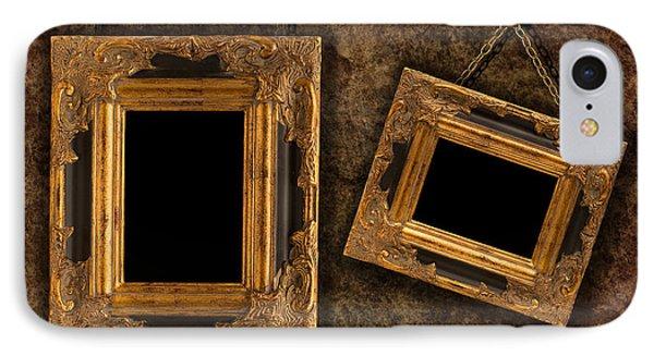 Two Hanging Frames Phone Case by Amanda Elwell