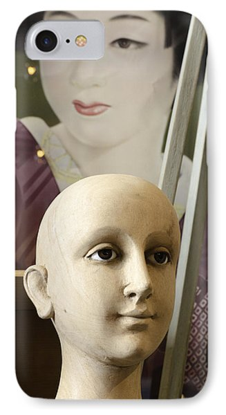 Two Heads IPhone Case by Craig Perry-Ollila