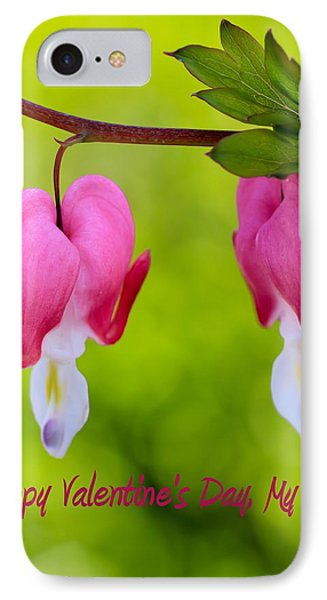 Two Hearts Valentine's Day IPhone Case by Heidi Smith