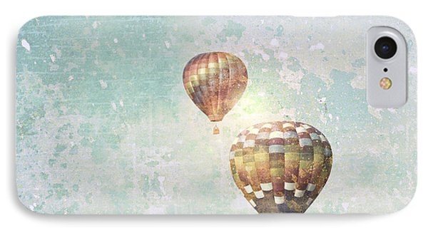 IPhone Case featuring the photograph Two Hot Air Balloons by Brooke T Ryan