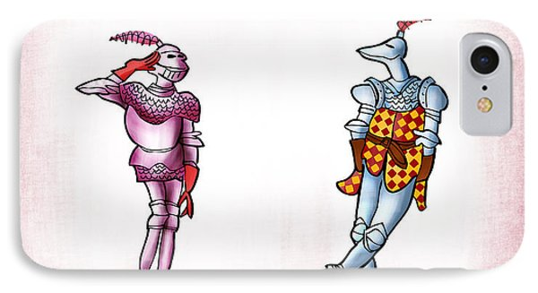 Two Knight Two Knight Phone Case by Mark Armstrong